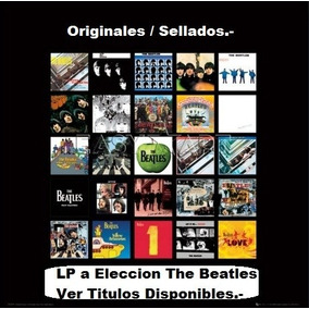 1 Vinilo Lp The Beatles A Eleccion - Originales - Ver Stock.