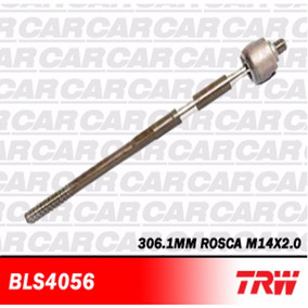 Terminal Direção Axial Diant Ford Fiesta Trw Bls4056