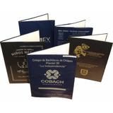 Folder Tamaño Carta De Vinil, Porta Documentos, Graduaciones