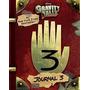 Diario Libro Gravity Falls 3 Original + Bolsa De Regalo Logo