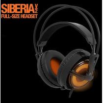 Fone Headset Steelseries Siberia V2 Heat Orange