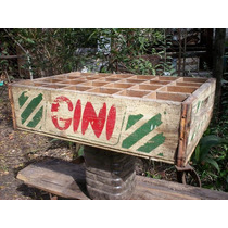 Cajón De Gaseosas Gini Vidrio Chica