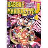Saber Marionette J 4 Manga Editorial Ivrea Argentina