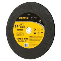 Disco Abrasivo Corte De Metal 14 Pulgadas Pretul 22561