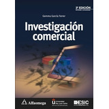 Libro Investigación Comercial 3a Ed. Autor: García, Gemma