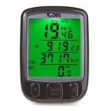 Velocímetro Digital Para Bicicleta 24 Funções A Prova D
