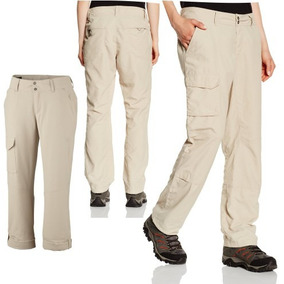 Pantalon Cargo Columbia Silver Ridge Convertible Capri Mujer