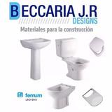 Juego De Baño Ferrum Bari Blanco Completo