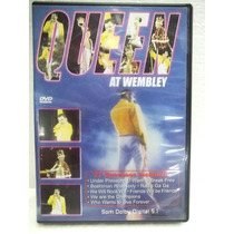 Queen At Wembley Live Dvd Original Estado Impecável