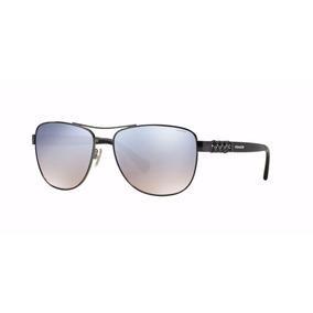 Lentes Gafas Coach Gunmetal Hc7056q 92257b Sol Original