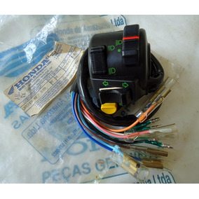 Chave De Luz Interruptor Punho Ml Cg 125 Novo Original Honda