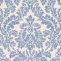 Papel De Parede Texturizado Salsa 53cm X 10m Azul Royal E
