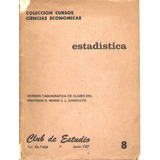 * Libro Estadisticas - Version Taquigrafica Prof.gandulfo
