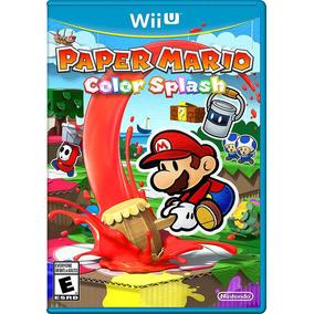Videojuego Paper Mario Color Splash Nintendo Wii U