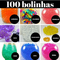 Gel Bolinha Cristal Decora Orbeez Planta Festa Agua 1000