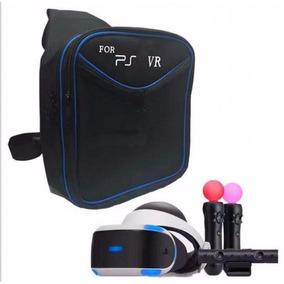 Bolsa Case Mochila Ps4 Headset Vr Porta Oculos Ps Vr Move