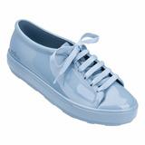 Sapato Tênis Feminino Melissa Be Original Rosa Azul Branco