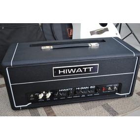 Amplificador Cabeçote Hiwatt - Hi-gain 50 C/ Foot - Novo