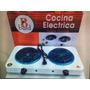 Cocina Eléctrica 2 Hornillas Portátil Henchufala Donde Quier