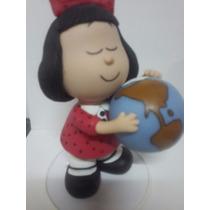 Adorno De Torta Mafalda En Porcelana Fría
