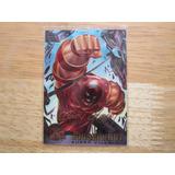 Juggernaut Tarjeta X-men 1995 Cromada Firma Preimpresa
