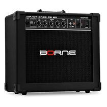 Amplificador Cubo Borne Impact Bass Cb60 20w Contra-baixo