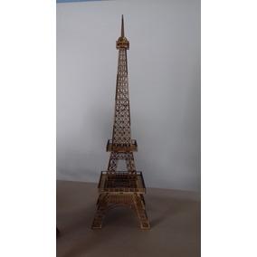 Torre Eiffel Provençal Em Mdf Cru