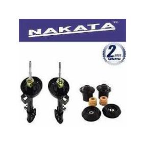 2 Amortecedor Dianteiro Nakata Novo Corsa Hatch + Kits Ba