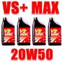 4 Litros De Oleo 20w50 Vs+max Petobras Promoção