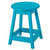 Banco Banqueta Cadeira Baixa Azul - Balcão Cozinha Barzinho