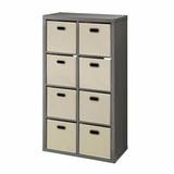 Mueble Organizador Con 8 Cajas Incluidas