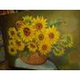 Cuadro Lienzos Oleos Pinturas Flores