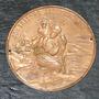 Medalla Aplicacion San Cristobal Protegenos En Cobre