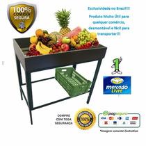 Expositor Frutas, Legumes, Sacolão, Mercado -hortifrúti