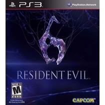 Resident Evil 6 Portugues Ps3 Codigo Psn, 7 Anos Cadastro
