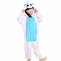 Pijama Unicórnio Infantil Importado Chega Em 35 Dias