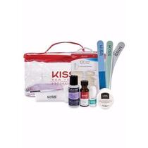 Kit Unhas Em Gel First Kiss Profissional Compacto Kpset05br