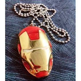 Colar Homem De Ferro Iron Man Marvel