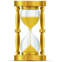 Ampulheta De Madeira Vidro De Areia Relógio Decoração Retrô