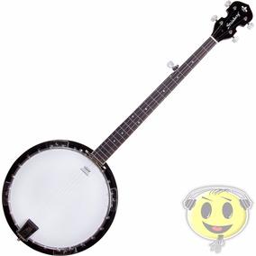 Banjo Americano 5 Cordas Strinberg Wb50 Mahogany - Kadu Som