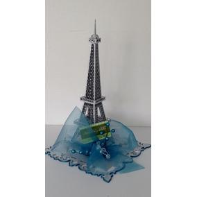 Centro De Mesa Torre Eiffel Con Base