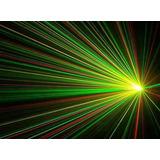 Laser Multipunto Lluvia Rojo Verde Audioritmico Tecno Cooler