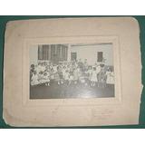 Fotografia Antigua Niños Escuela Escolar Cuenins Junin
