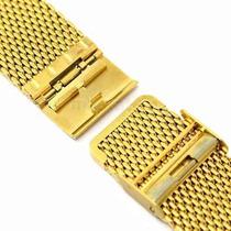 Pulseira De Relógio Mesh - Luxo - Gold Bracelet