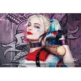 Disfraz Harley Quinn Para Niñas, Suicide Scuad, Envio Gratis