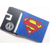 Billetera Superman Escudo Uniforme Cartera Importada