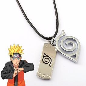 Colar Cordão Naruto Bandana Ninja Folha Boruto
