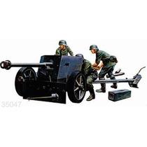 Tamiya Soldados Anti Tanque 75mm Alemanes 1/35 Armar Pintar