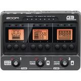 Zoom G3 Pedalera Multiefecto Para Guit Emuladora De Amplis