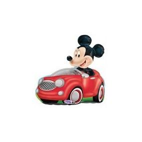Globo Metalizado Mickey Auto Cotillon Disney